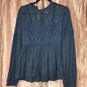 Francesca's lace shirt BRAND NEW‼️🏷